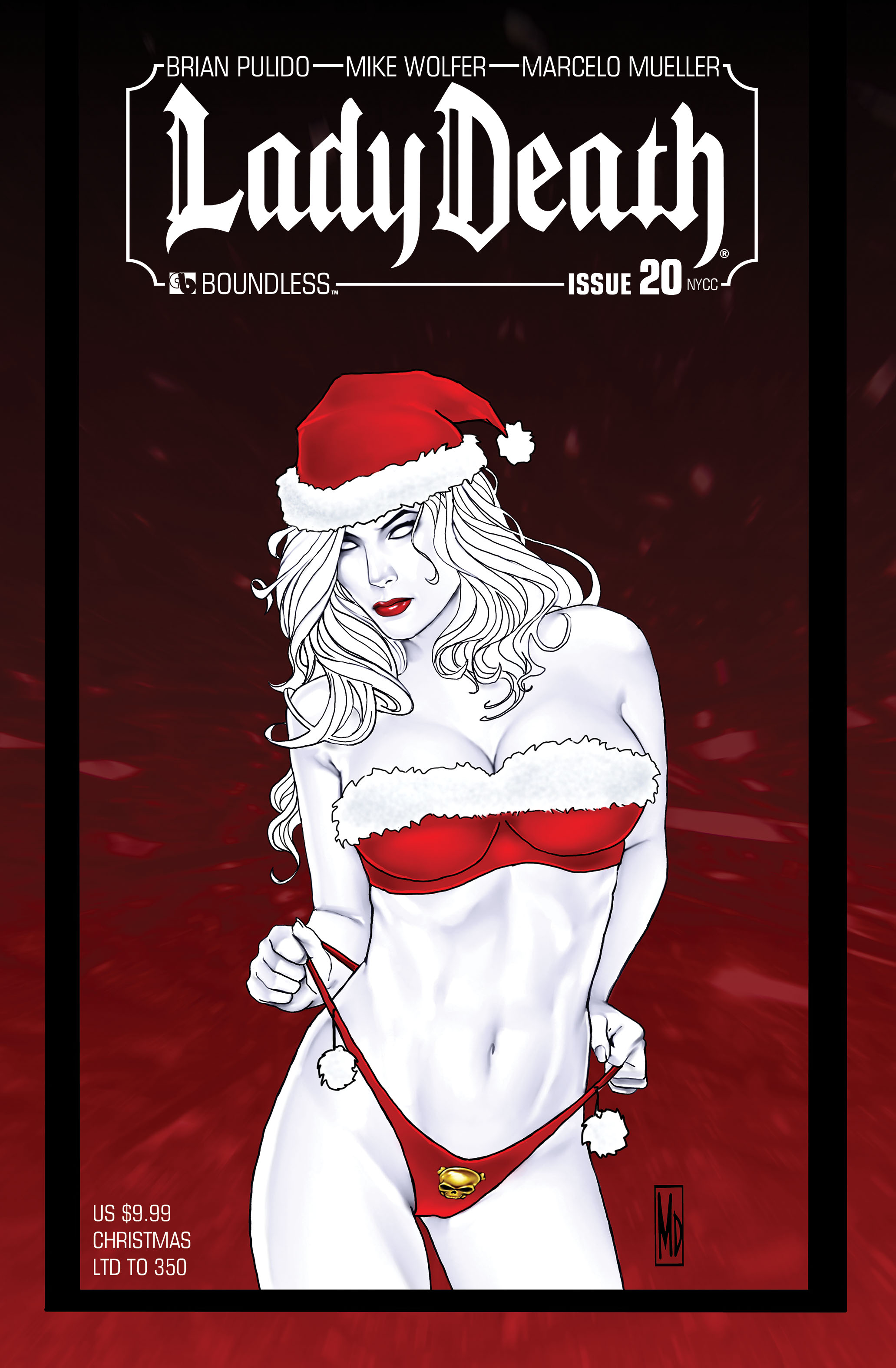 LADY DEATH (ONGOING) #20 NY CHRISTMAS (MR)