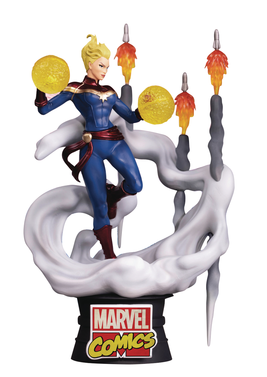 MARVEL COMICS CAPTAIN MARVEL DS-019 D-STAGE PX 6IN STATUE (A
