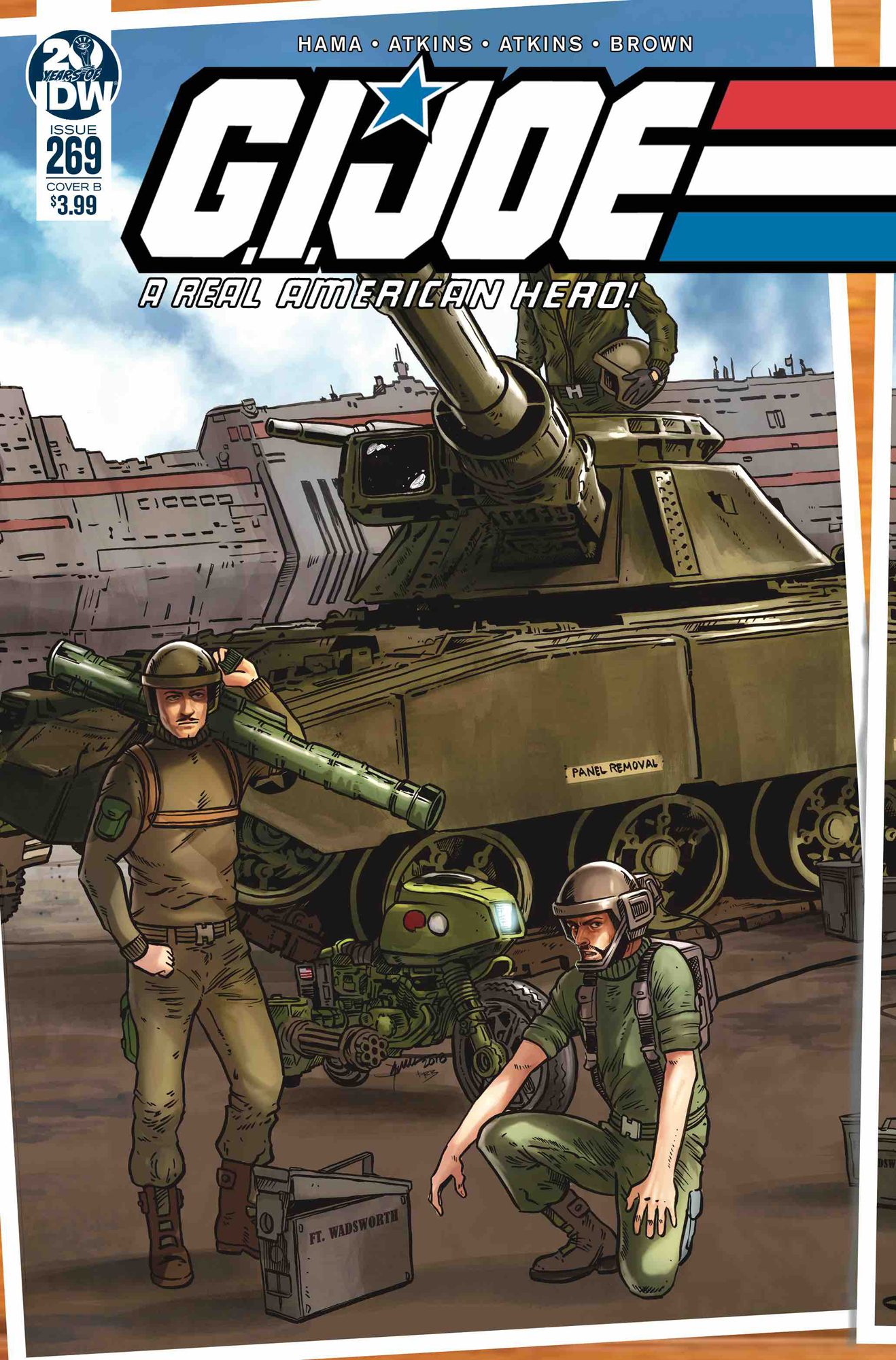 GI JOE A REAL AMERICAN HERO #269 CVR B SULLIVAN