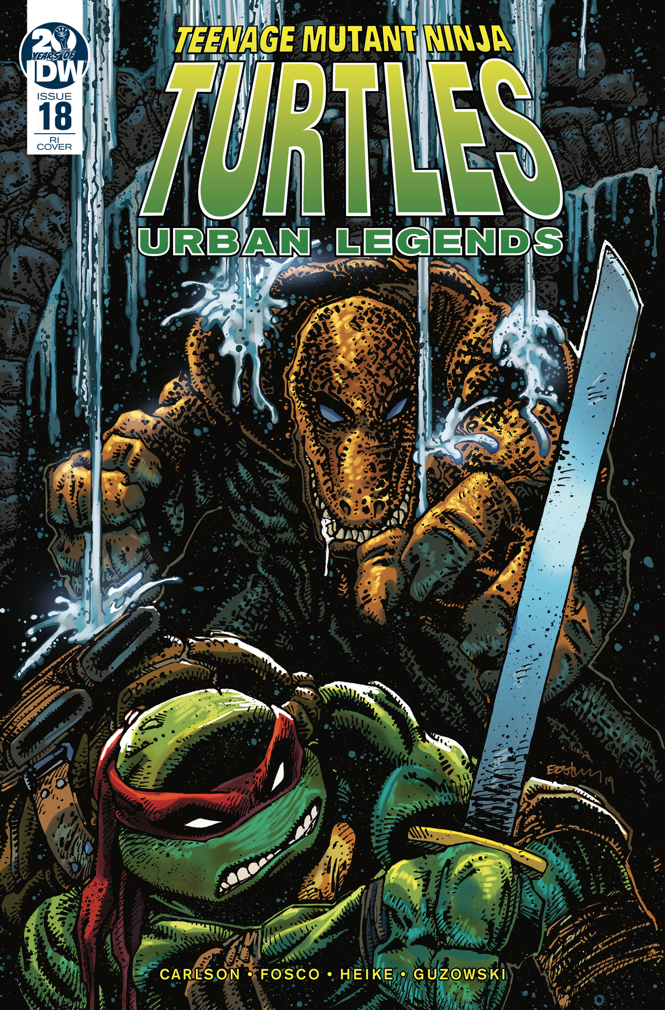 TMNT URBAN LEGENDS #18 10 COPY INCV EASTMAN