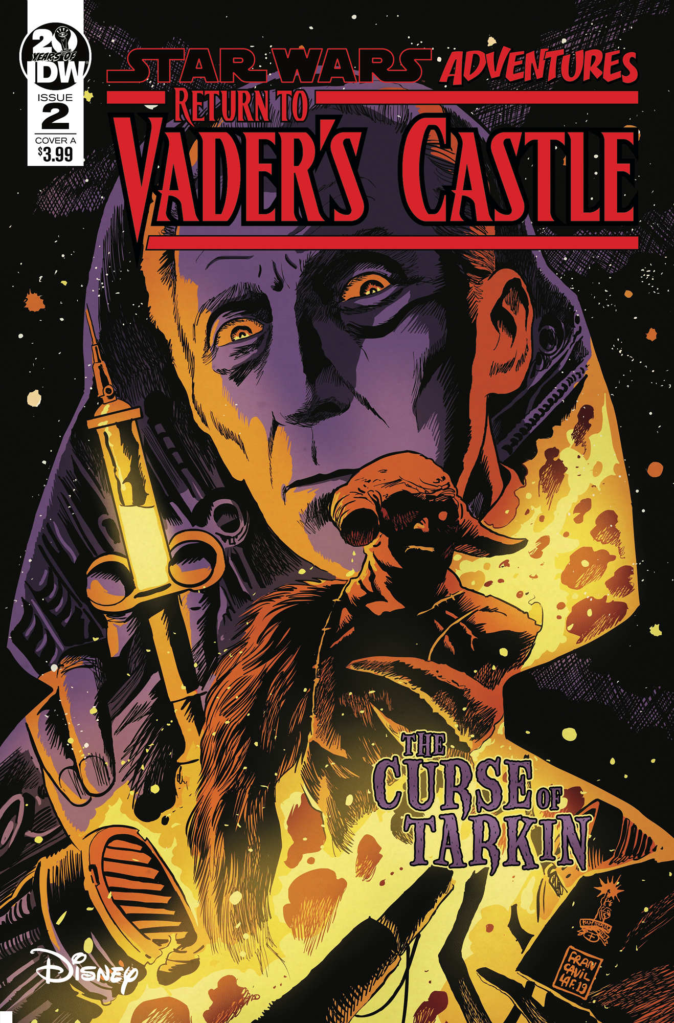 STAR WARS ADVENTURES RETURN TO VADERS CASTLE #2 CVR A FRANCA
