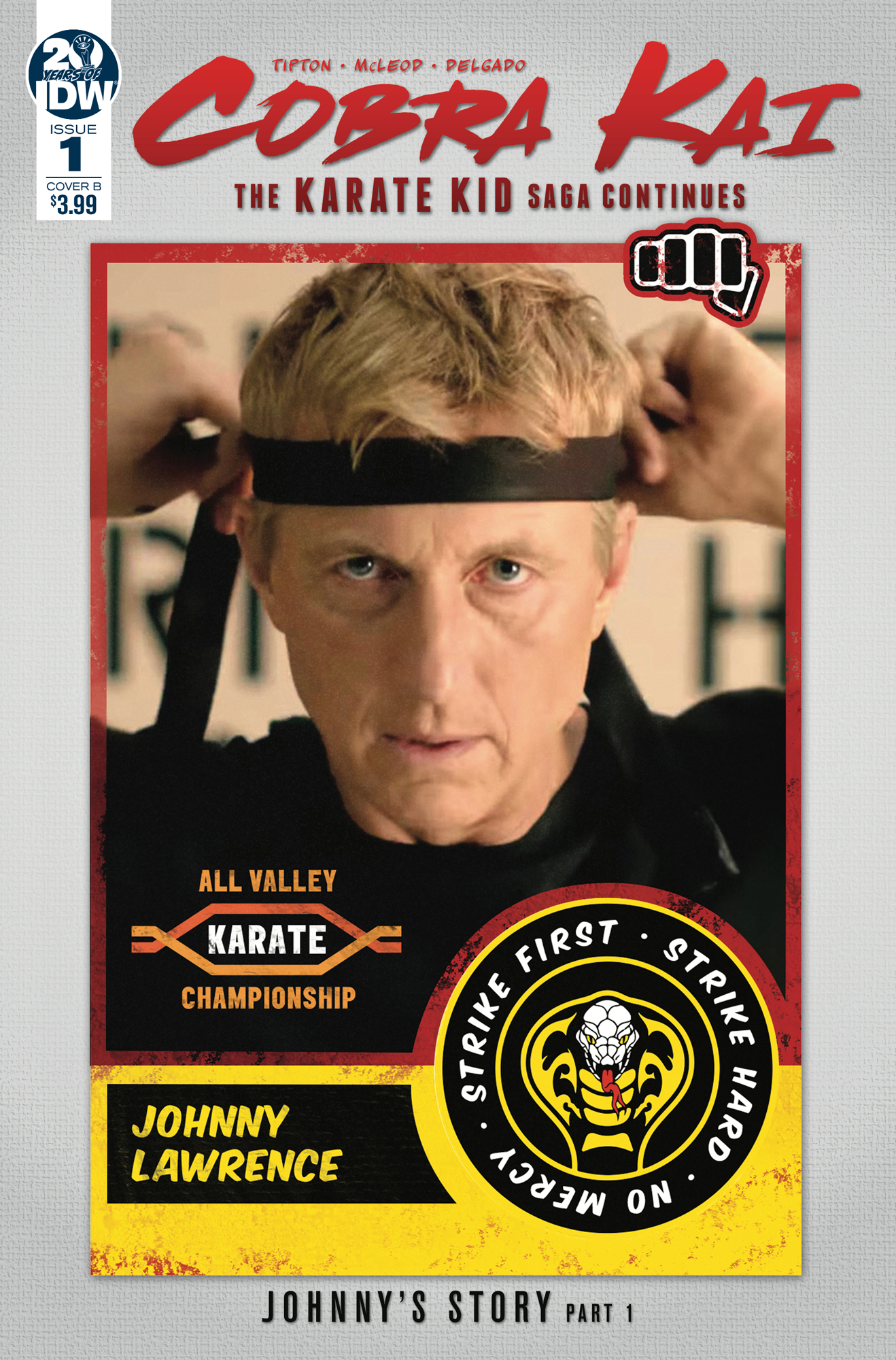 COBRA KAI KARATE KID SAGA CONTINUES #1 (OF 4) CVR B PHOTO
