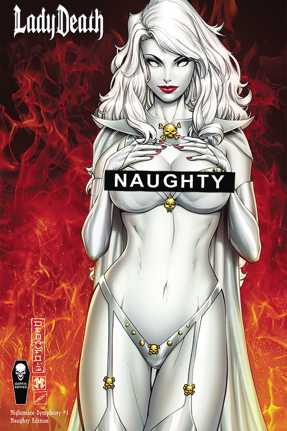 LADY DEATH NIGHTMARE SYMPHONY #1 (OF 2) NAUGHTY VAR CVR (MR)