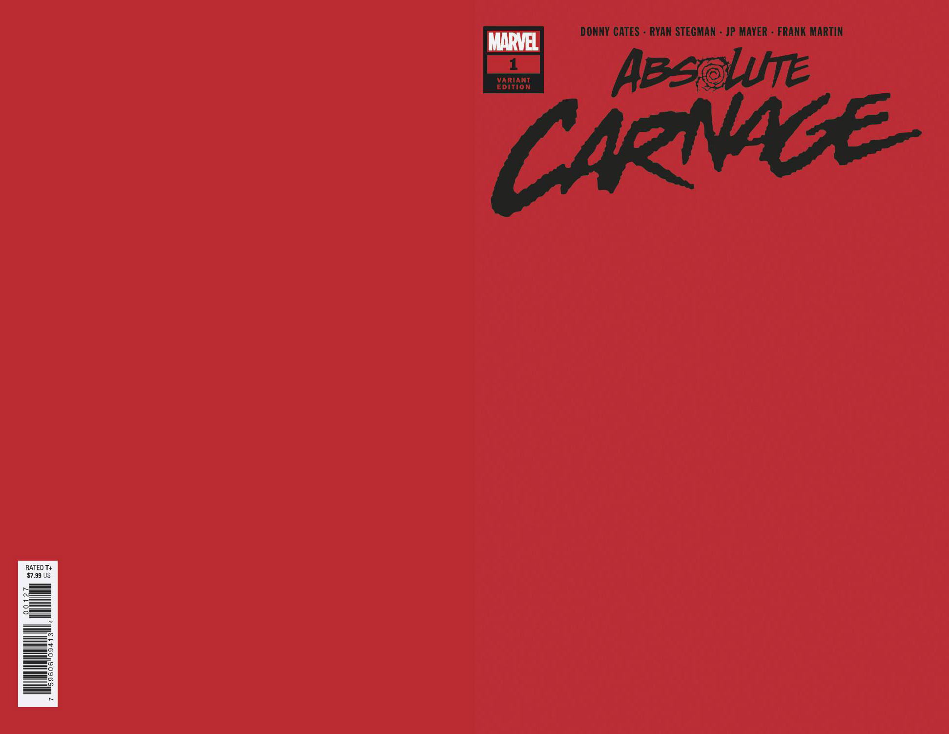 ABSOLUTE CARNAGE #1 (OF 4) RED VAR AC