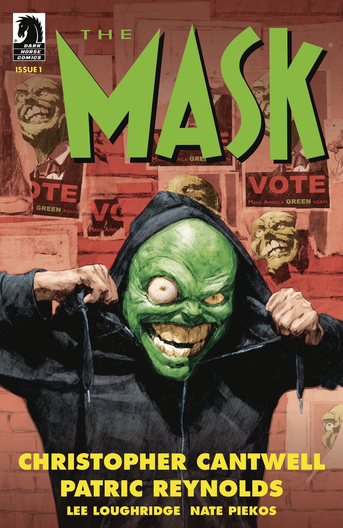 MASK I PLEDGE ALLEGIANCE TO THE MASK #1 (OF 4) CVR A REYNOLD