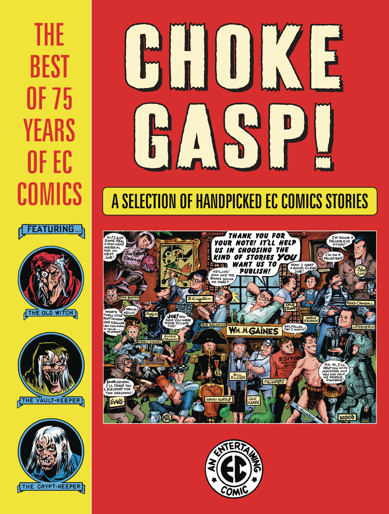 CHOKE GASP THE BEST OF 75 YEARS OF EC COMICS HC