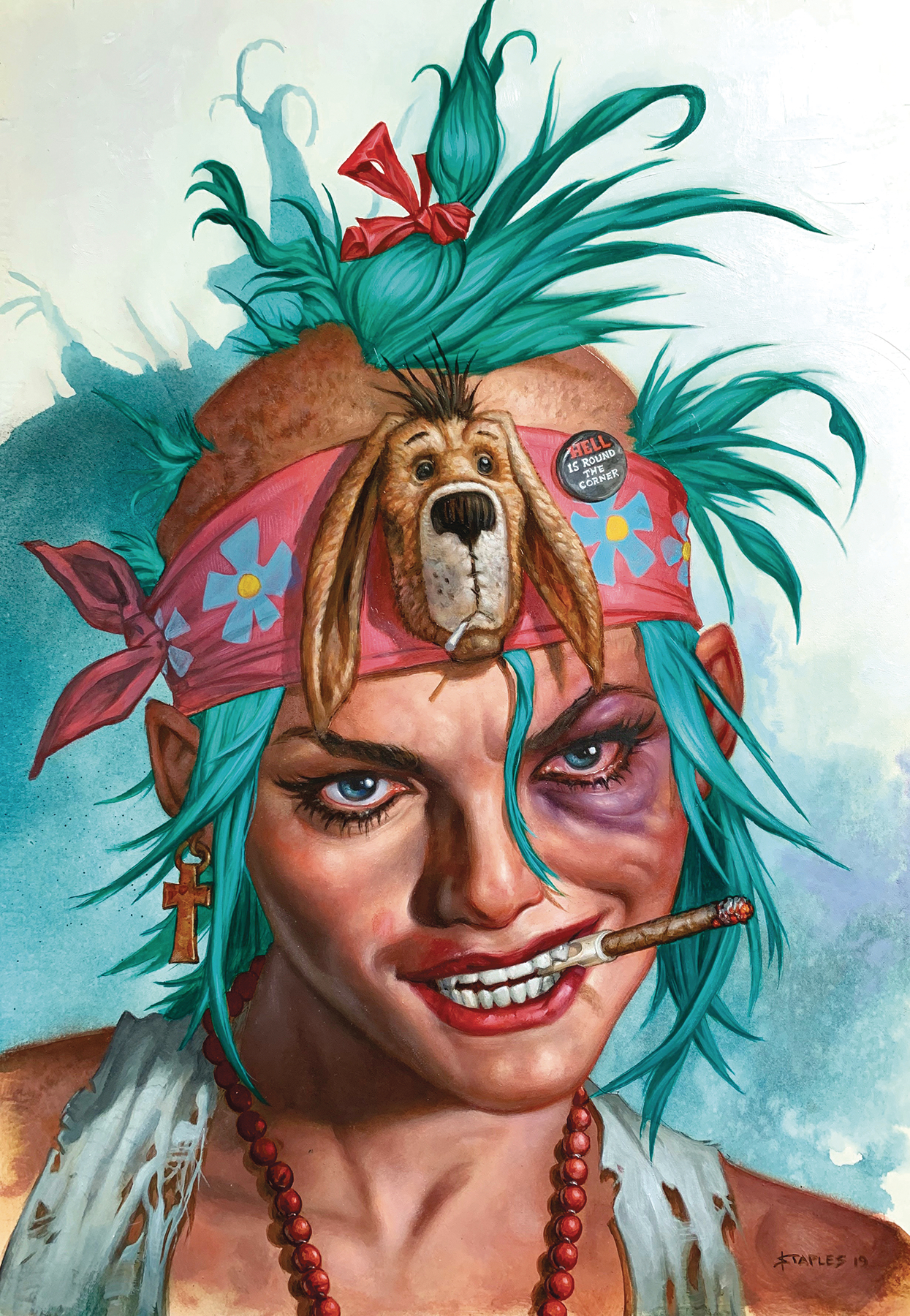 TANK GIRL #8 CVR B  VIRGIN STAPLES