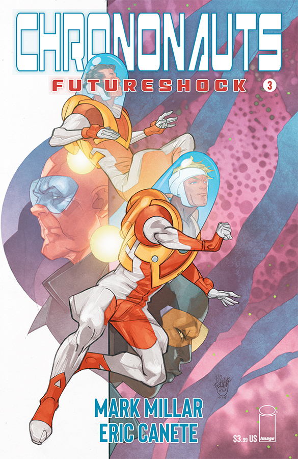 CHRONONAUTS FUTURESHOCK #3 (OF 4) CVR A FERRY (MR)
