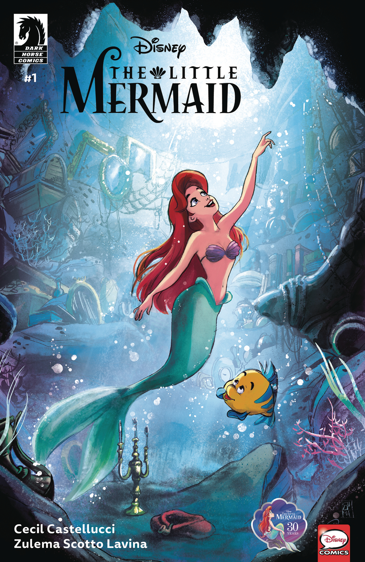 DISNEY THE LITTLE MERMAID #1 (OF 3)