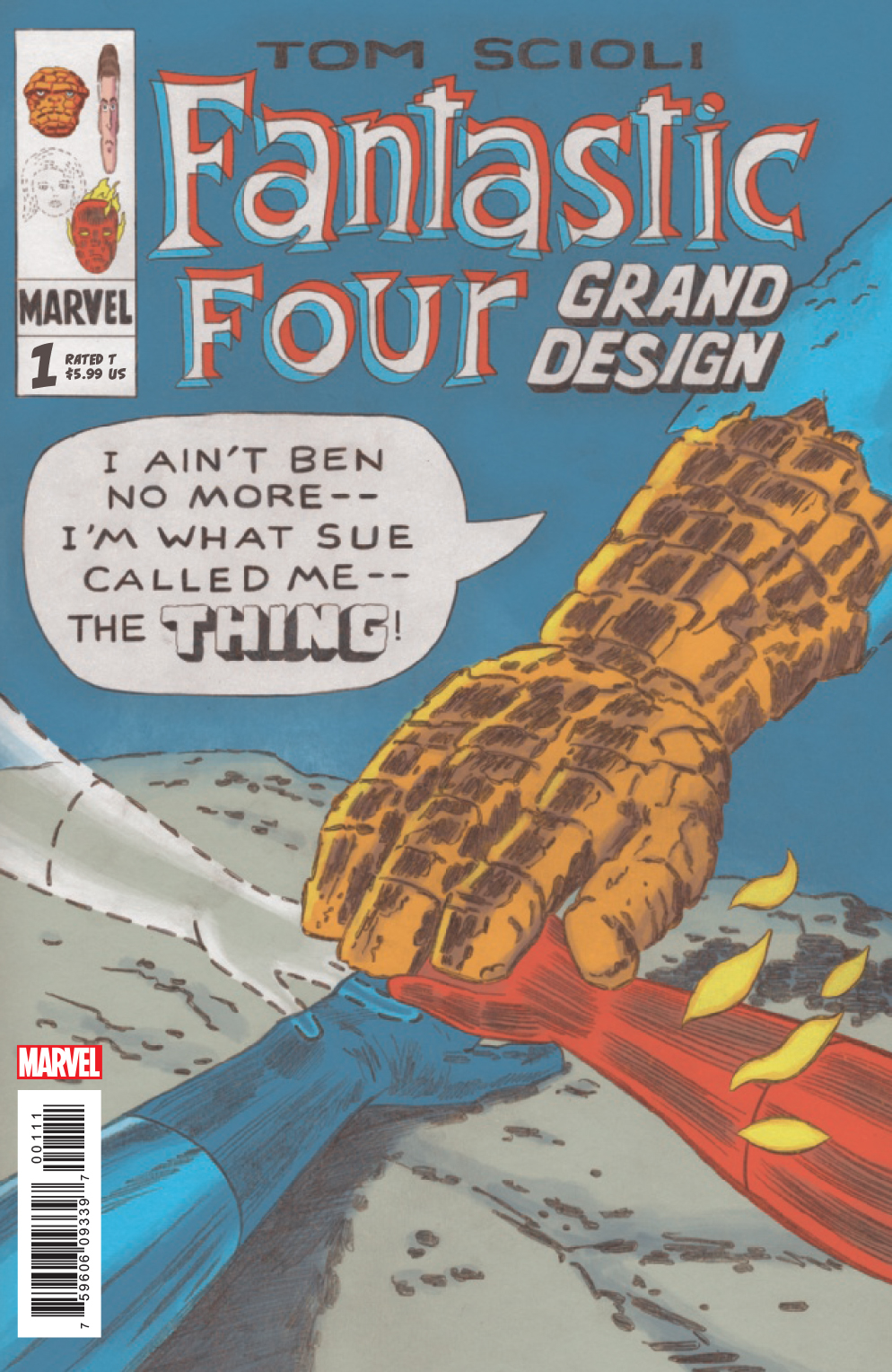 FANTASTIC FOUR GRAND DESIGN #1 (OF 2)