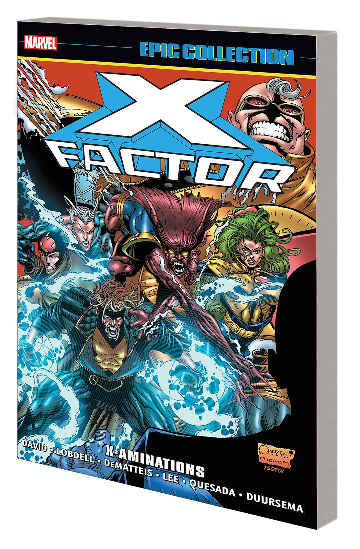 X-FACTOR EPIC COLLECTION (8) TP X-AMINATIONS [1992 #84-100+]