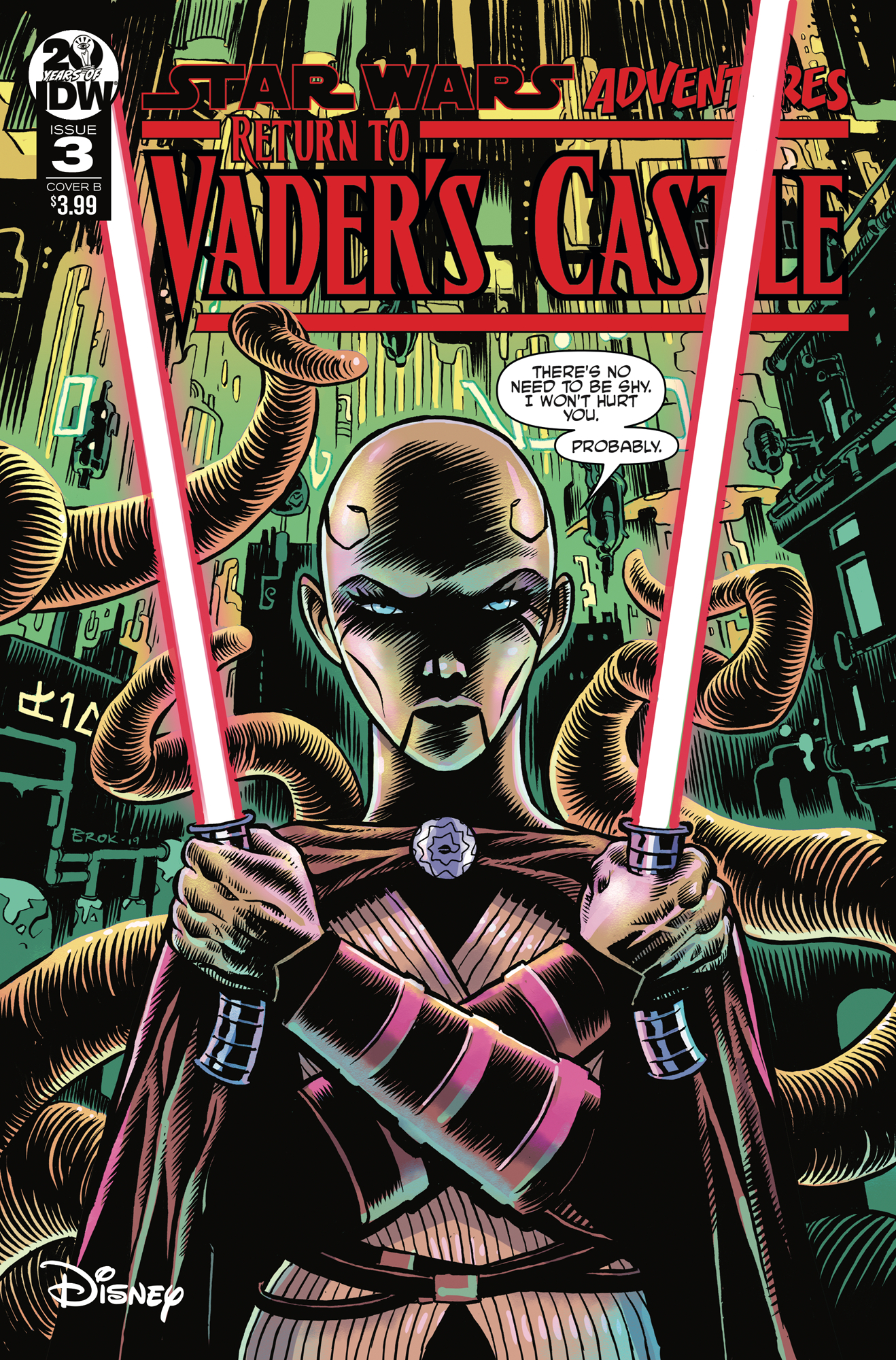 STAR WARS ADVENTURES RETURN TO VADERS CASTLE #3 CVR B BROKEN