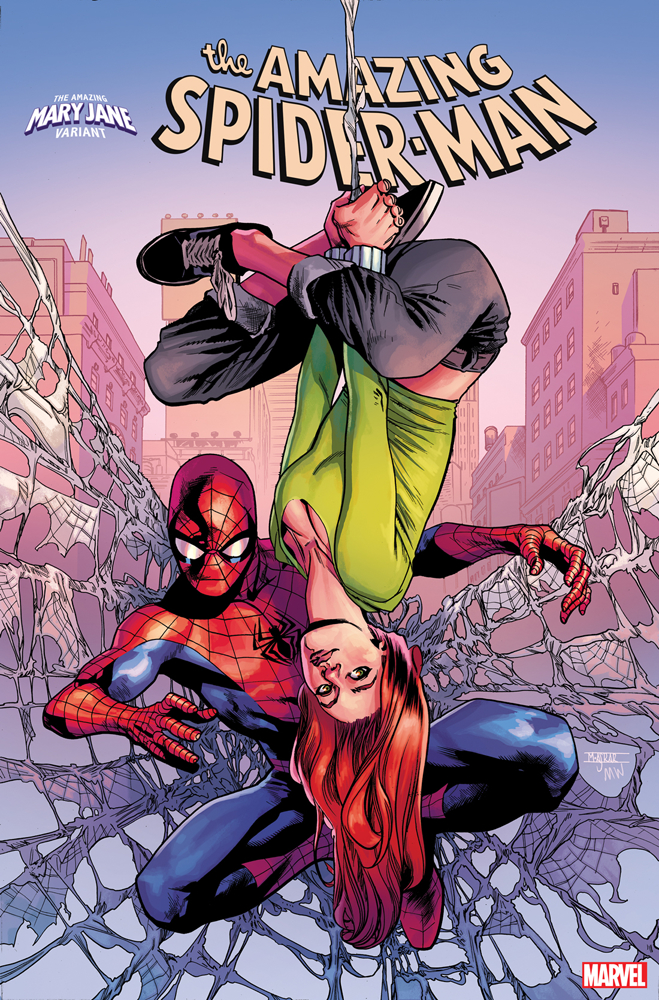 AMAZING SPIDER-MAN #32 ASRAR MARY JANE VAR