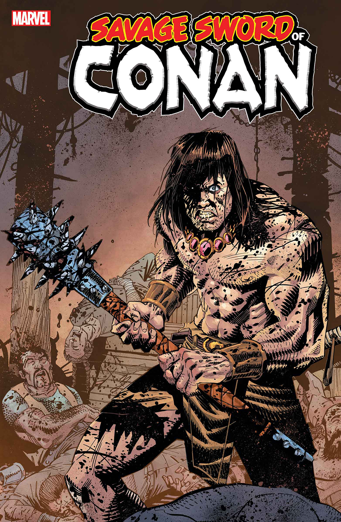 SAVAGE SWORD OF CONAN #10 MCCREA VAR