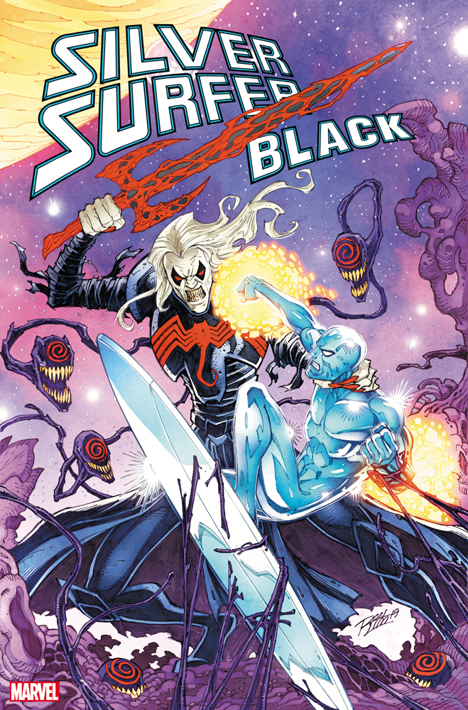 SILVER SURFER BLACK #5 (OF 5) RON LIM VAR