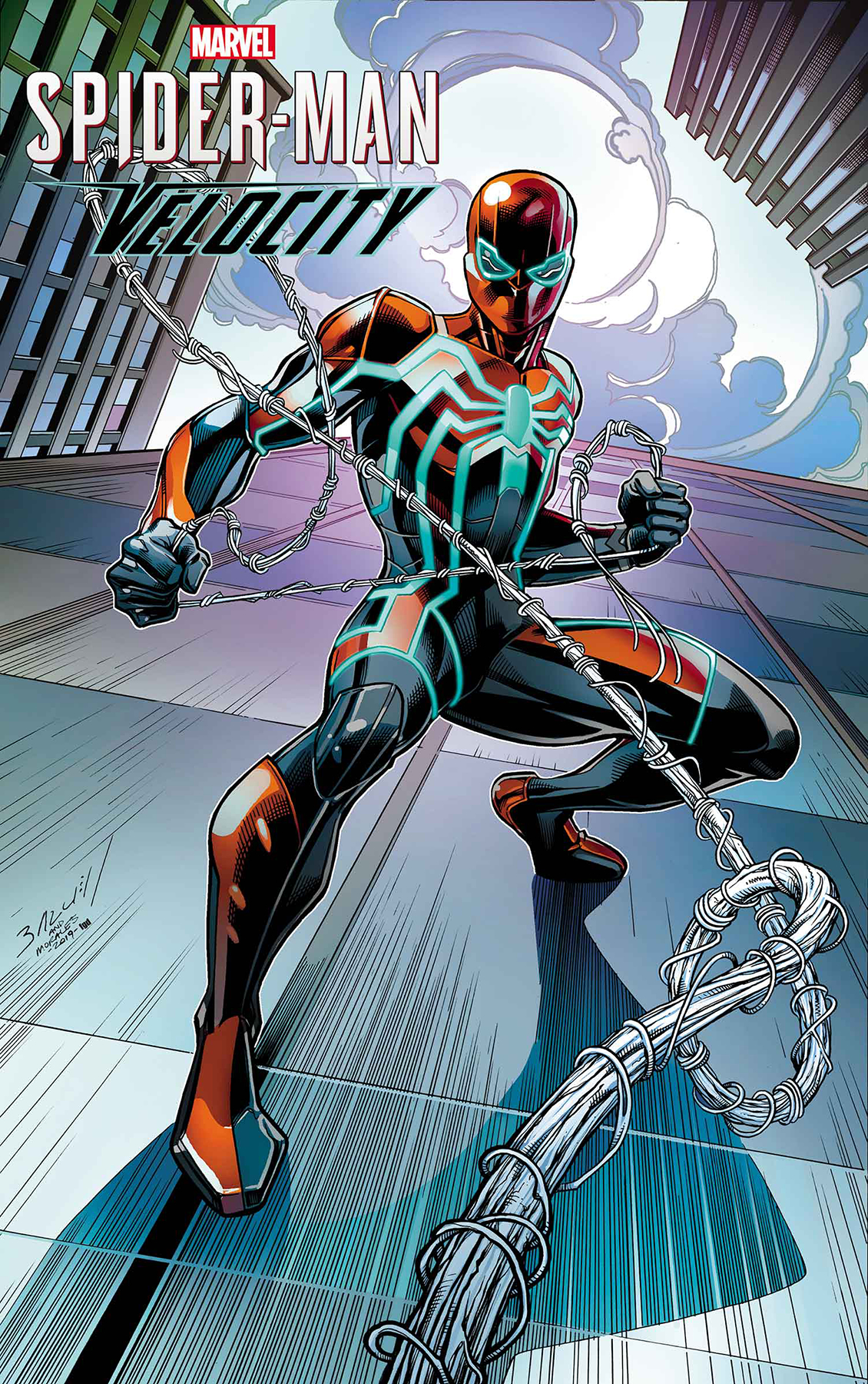 SPIDER-MAN VELOCITY #3 (OF 5) BAGLEY VAR