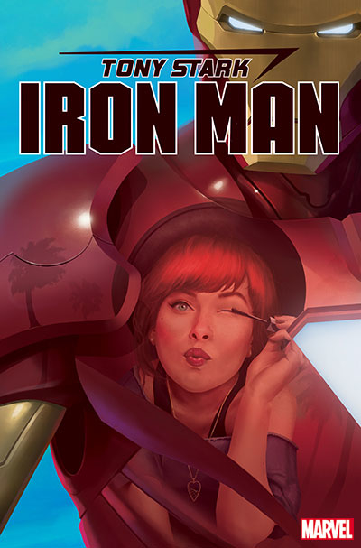 TONY STARK IRON MAN #17 RAHZZAH MARY JANE VAR