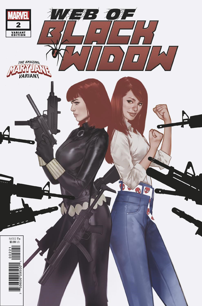 WEB OF BLACK WIDOW #2 (OF 5) OLIVER MARY JANE VAR