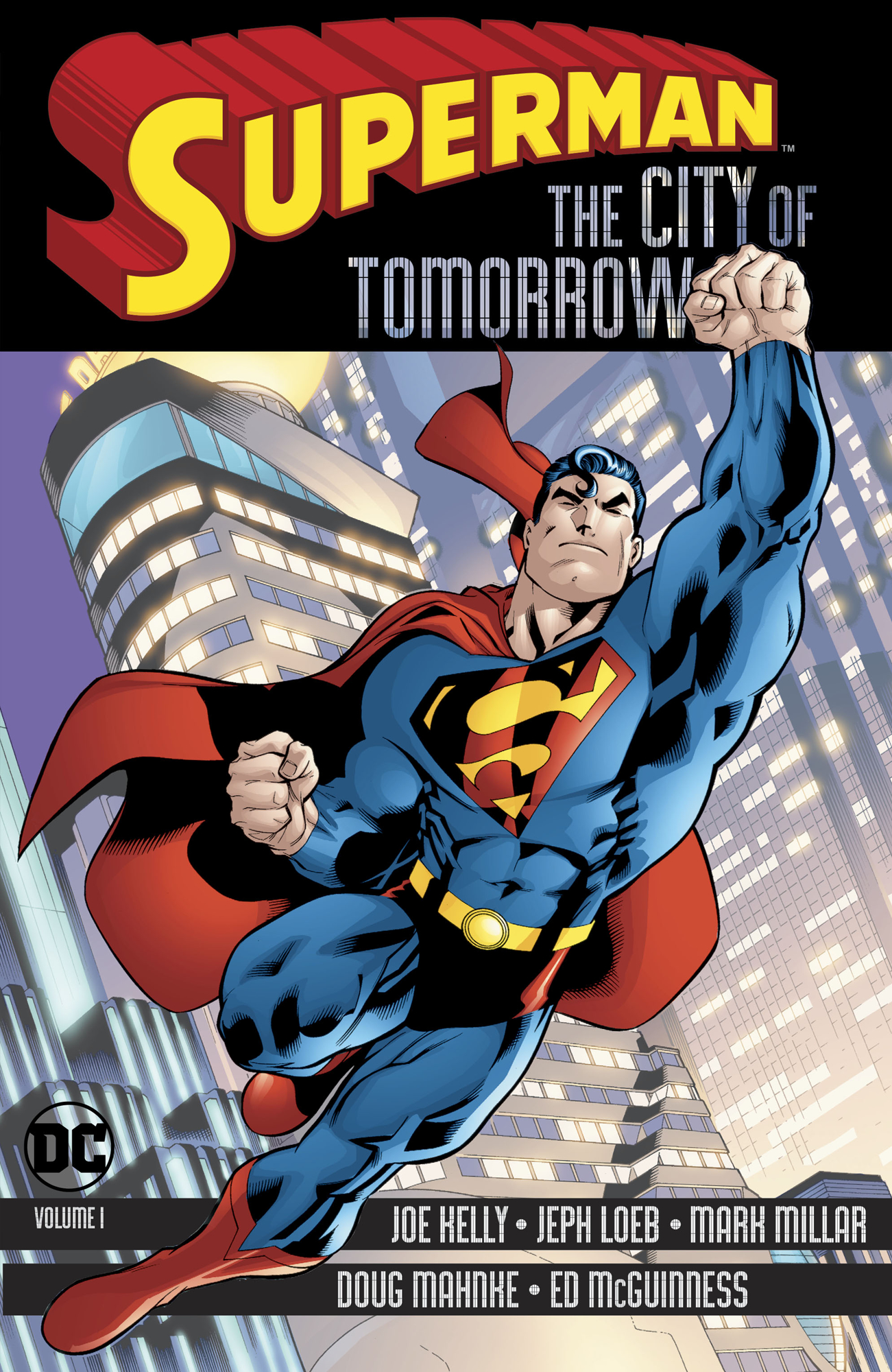 SUPERMAN THE CITY OF TOMORROW TP VOL 01