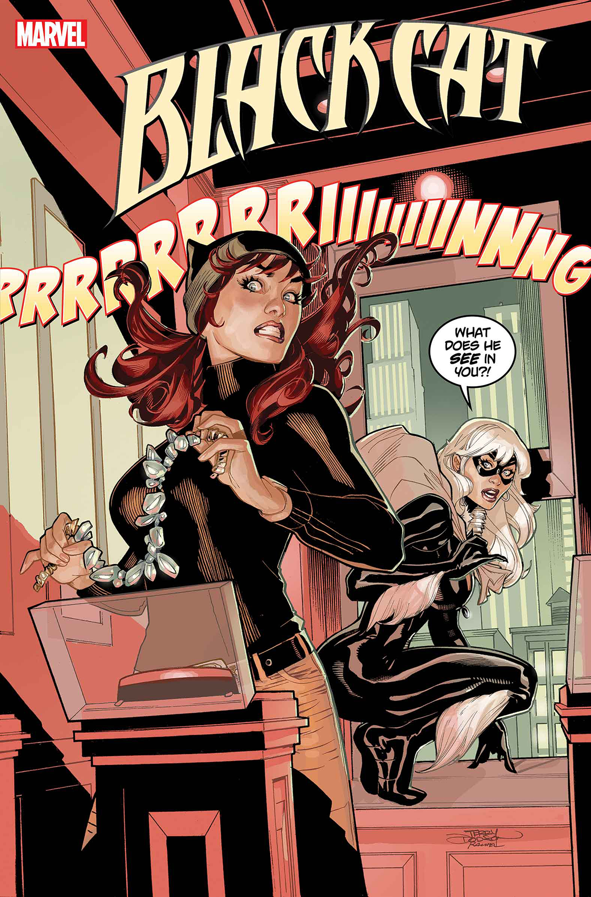 BLACK CAT #5 DODSON MARY JANE VAR