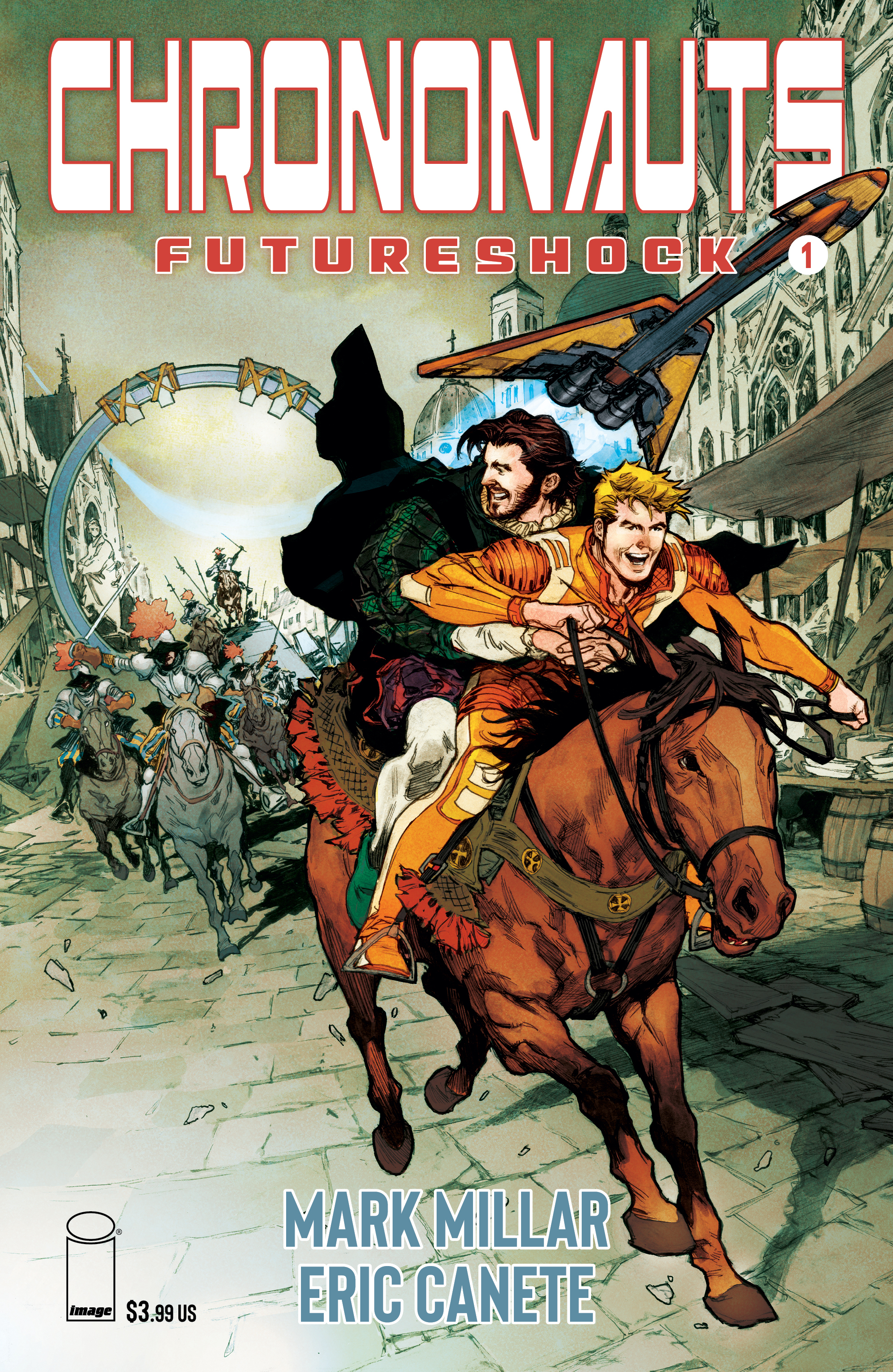 CHRONONAUTS FUTURESHOCK #1 (OF 4) CVR G MACUTAY (MR)