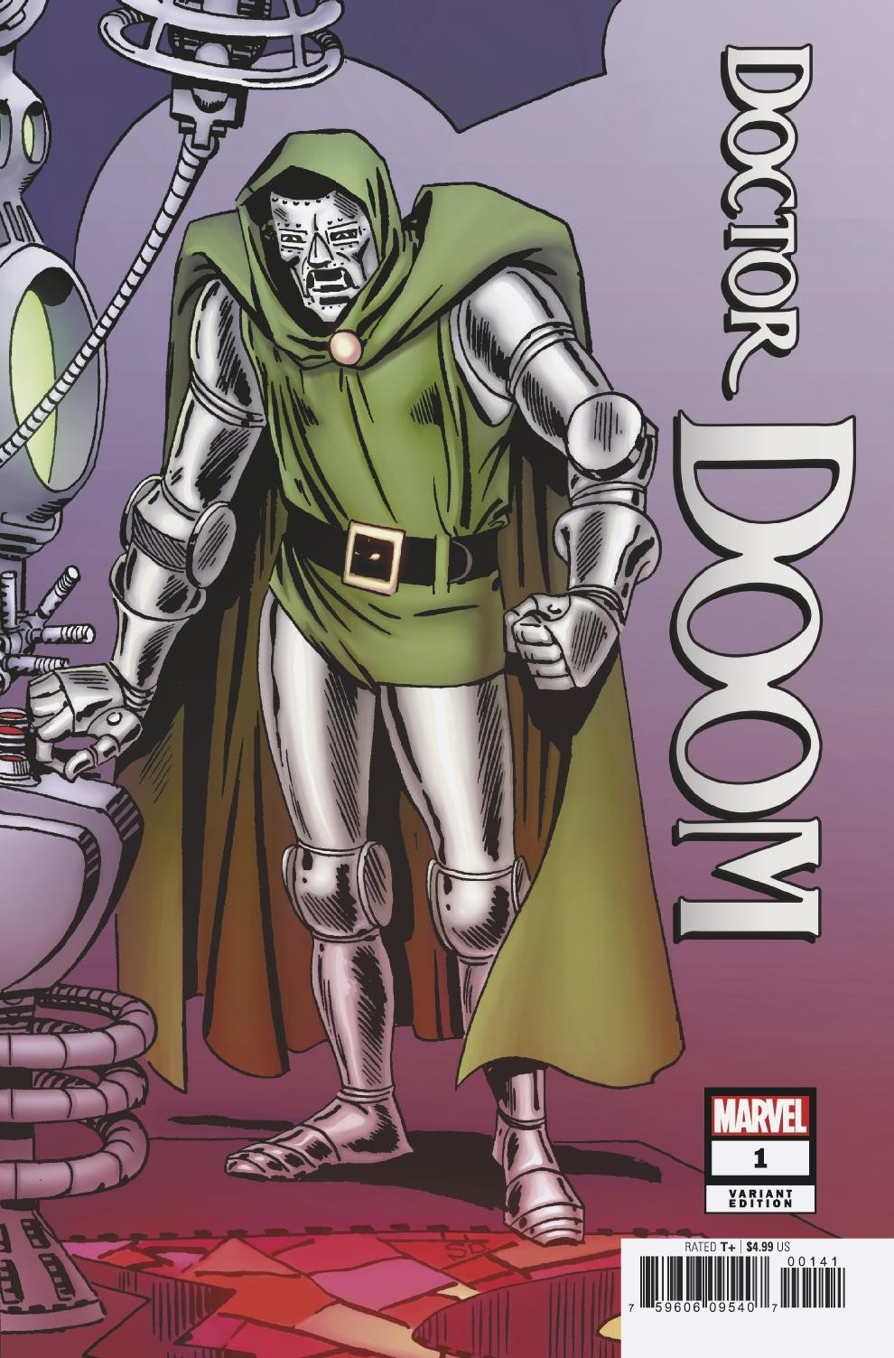 DOCTOR DOOM #1 DITKO HIDDEN GEM VAR