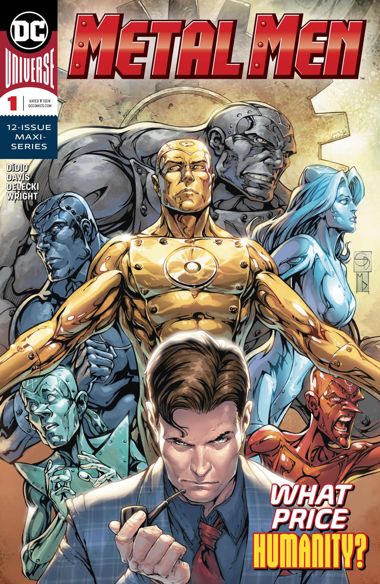 METAL MEN #1 (OF 12)