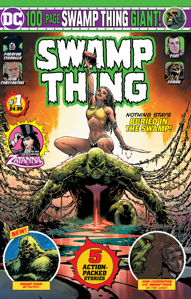 Image result for swamp thing 100 page giant 2019