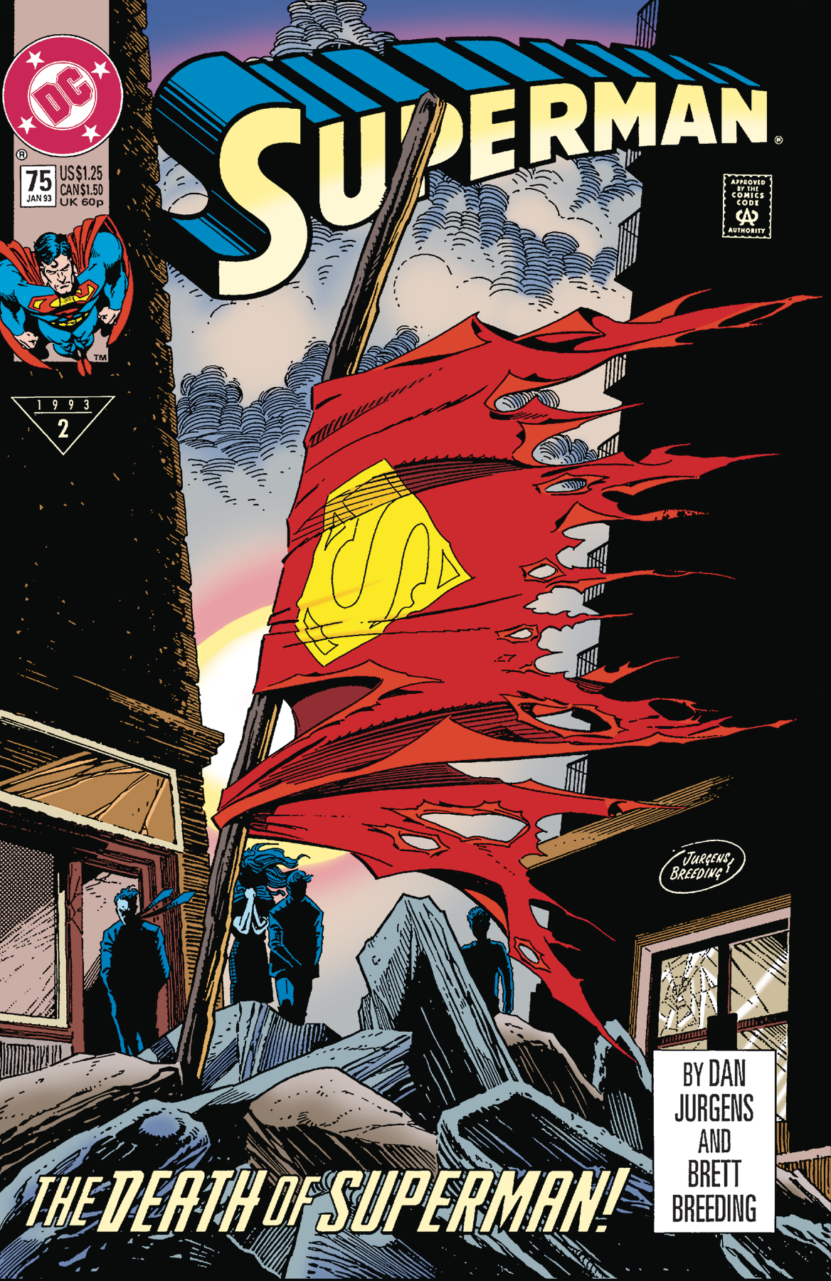 DOLLAR COMICS SUPERMAN #75