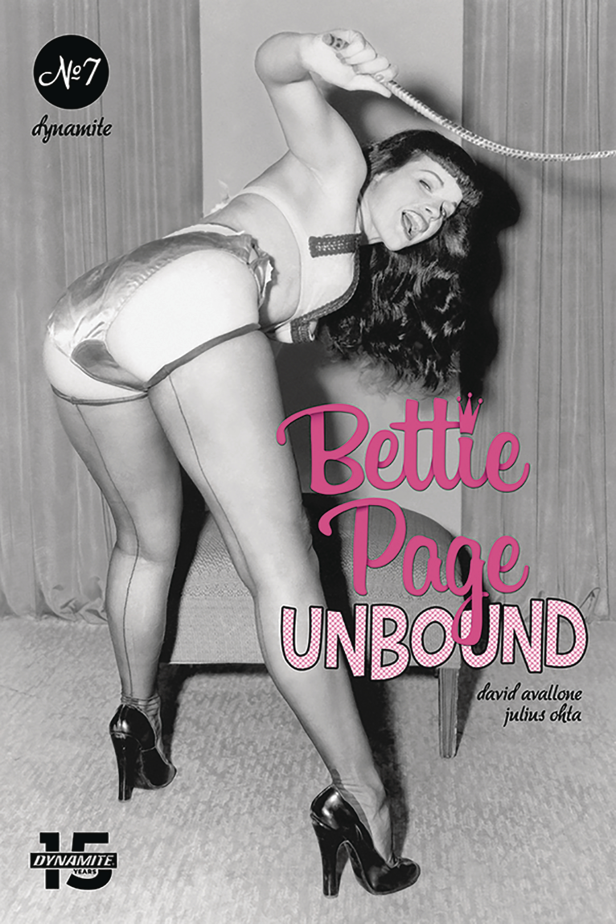 Bettie Page Hd aug191264 - bettie page unbound #7 cvr e photo - previews world