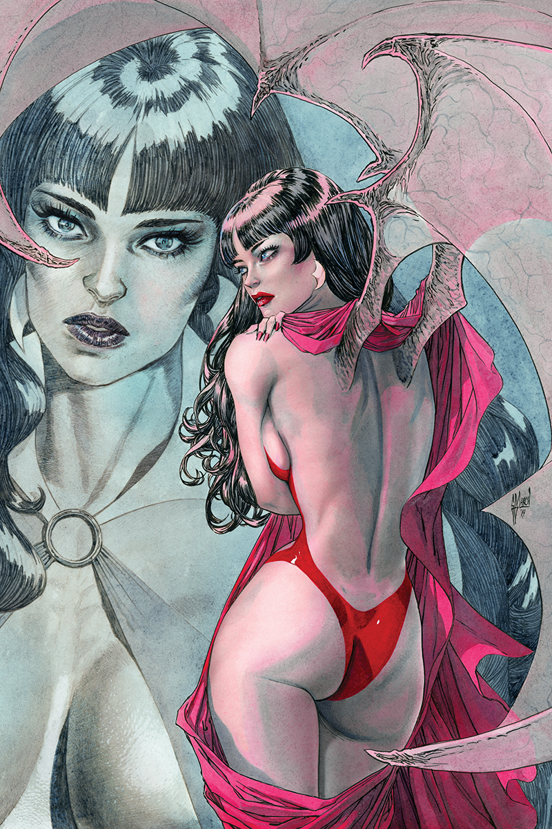 VAMPIRELLA #4 40 COPY MARCH VIRGIN INCV