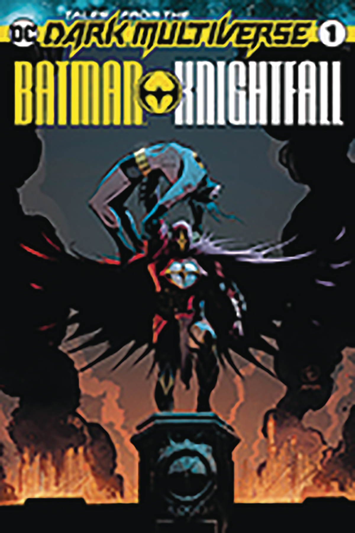 DF BATMAN KNIGHTFALL #1 SGN HIGGINS