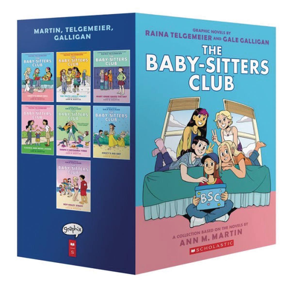 BABY SITTERS CLUB COLOR ED BOX SET 1-7