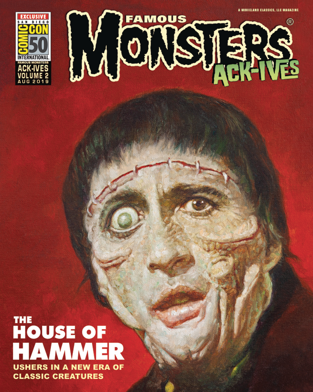 The House Of Hammer sep191745 - famous monsters ack-ives #2 house of hammer sdcc