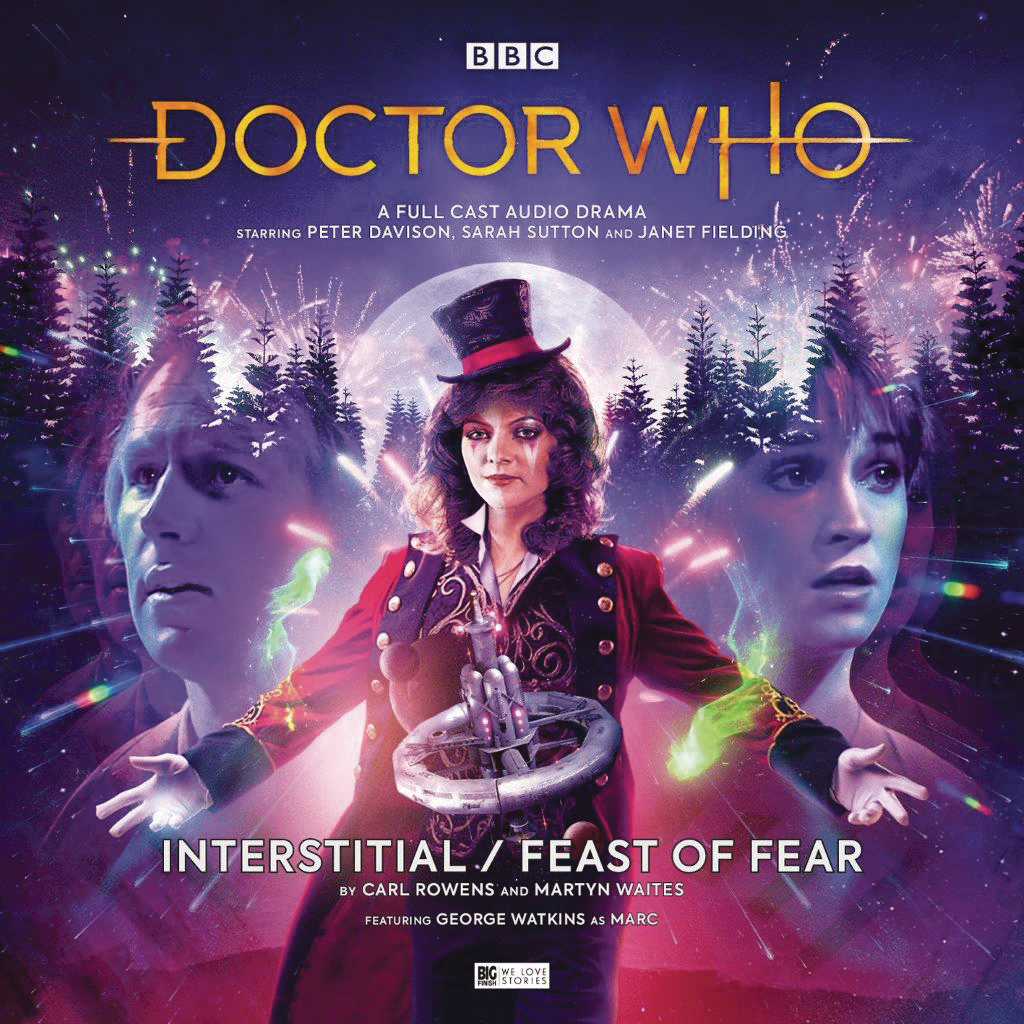 DR WHO 5TH DOCTOR INTERSTITIAL FEAST OF FEAR AUDIO CD