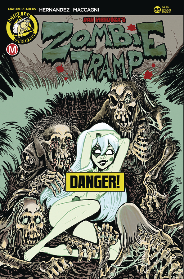 ZOMBIE TRAMP ONGOING #66 CVR D BAUGH RISQUE (MR)