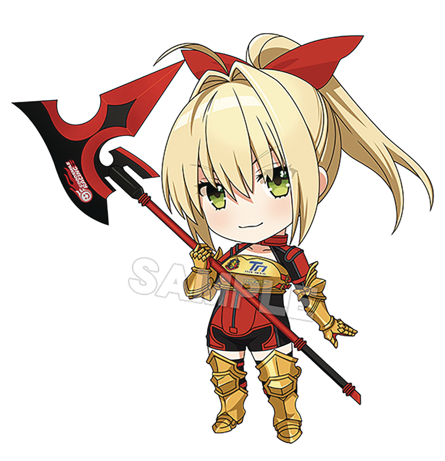FATE GRAND ORD NERO CLAUDIUS NENDOROID AF RACING VER