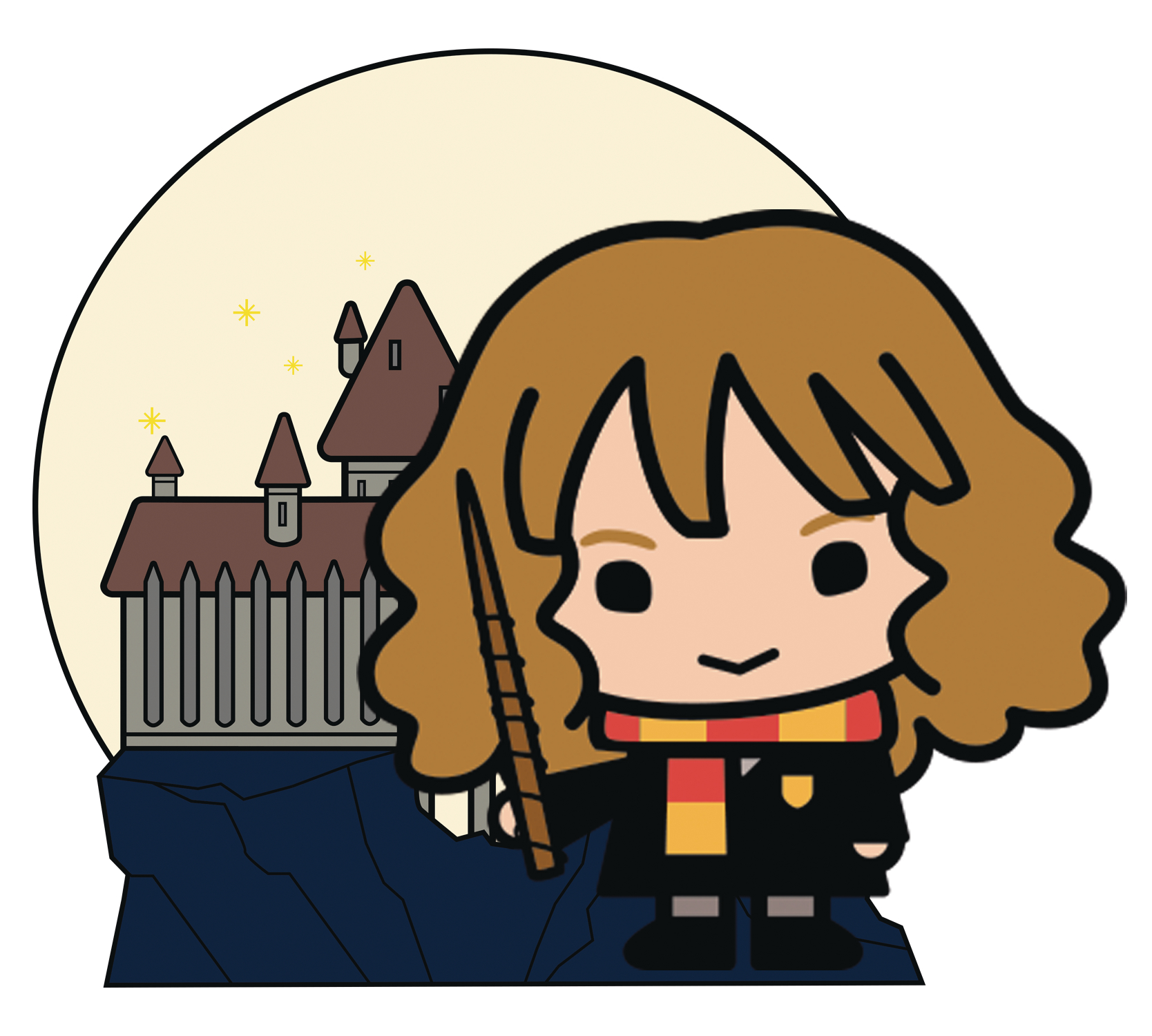 HARRY POTTER CHARM HOGWARTS HERMIONE PIN