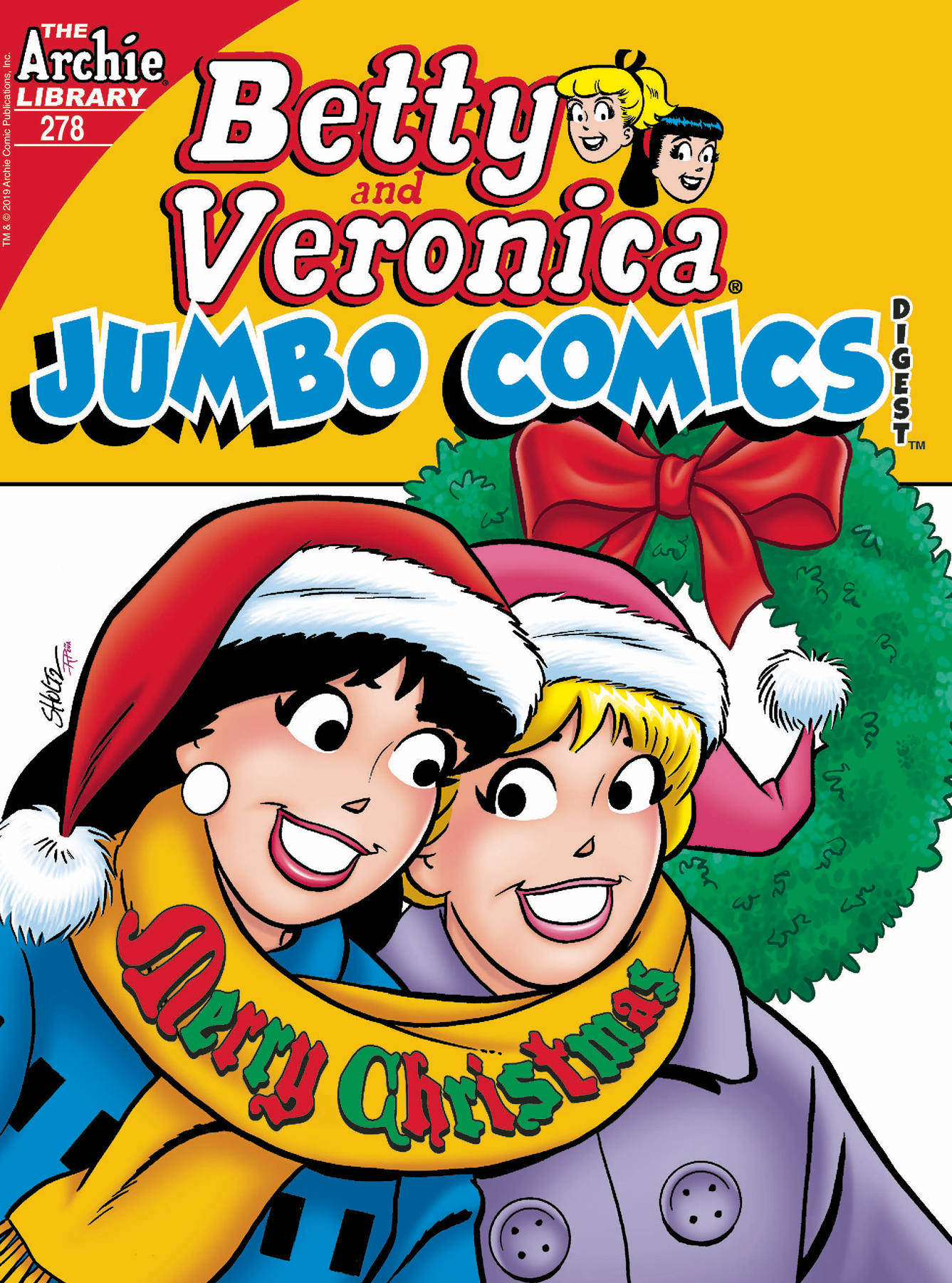 BETTY & VERONICA JUMBO COMICS DIGEST #278