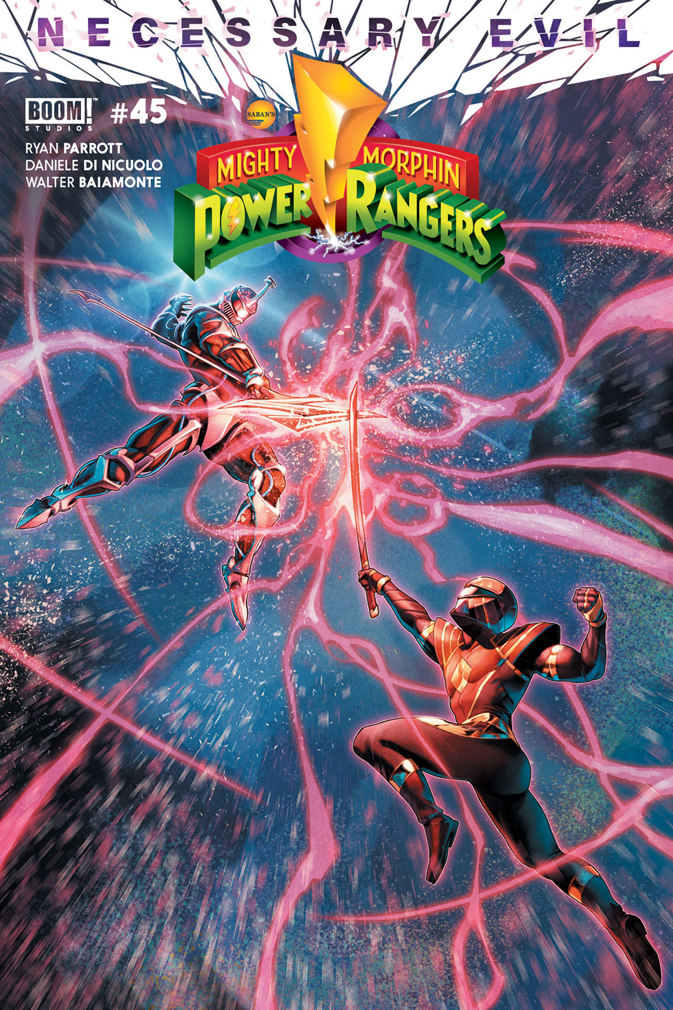 MIGHTY MORPHIN POWER RANGERS #45 CVR A CAMPBELL