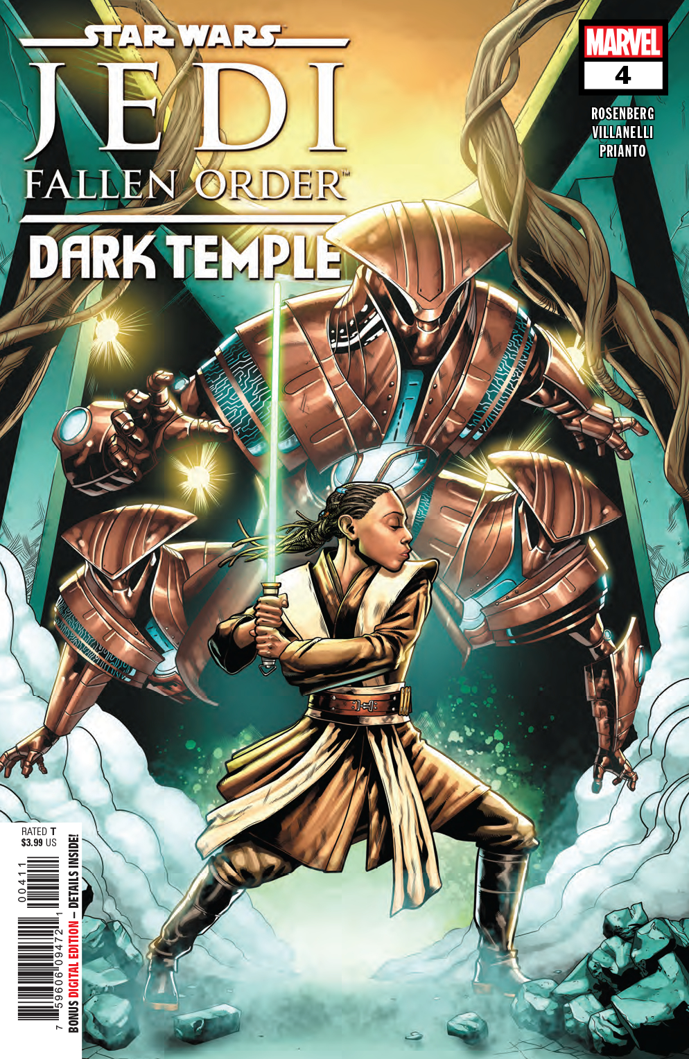 STAR WARS JEDI FALLEN ORDER DARK TEMPLE #4 (OF 5)
