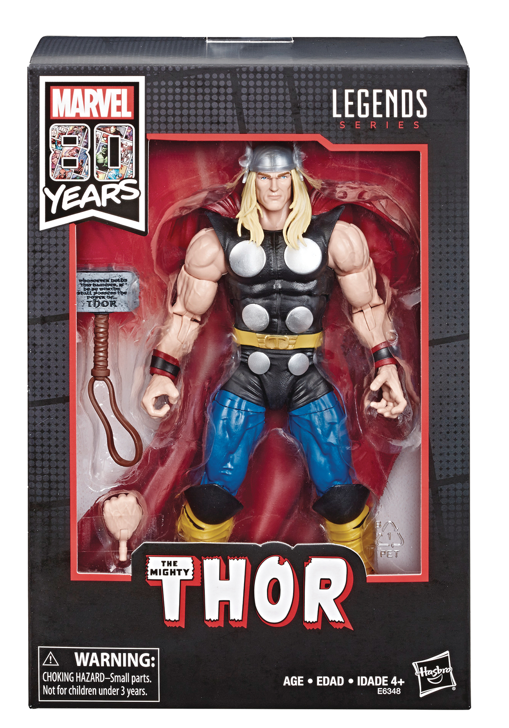 MARVEL LEGENDS 80TH ANN COMIC THOR 6IN AF SET CS
