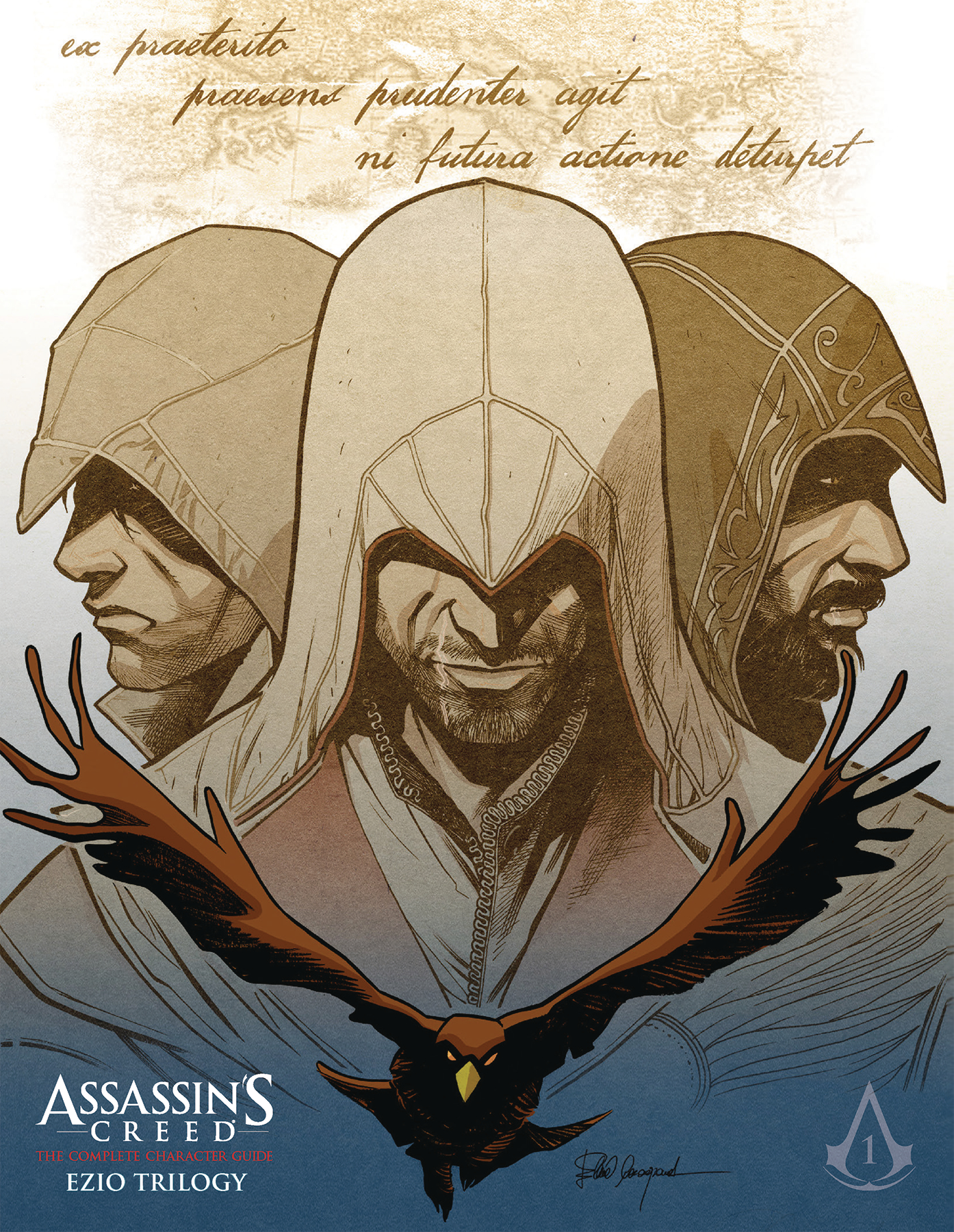 Sep191830 Assassins Creed Comp Character Guide Ezio Coll 1 Ezio Audit Previews World