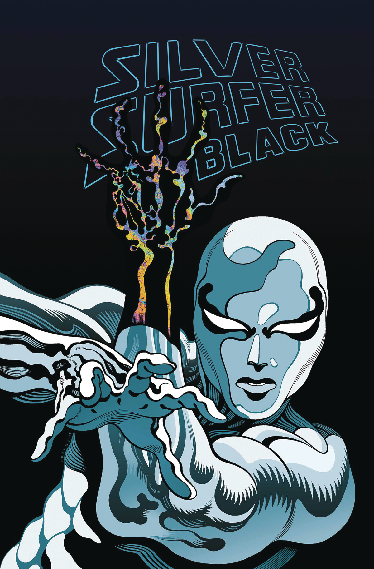 SILVER SURFER BLACK TP TREASURY EDITION