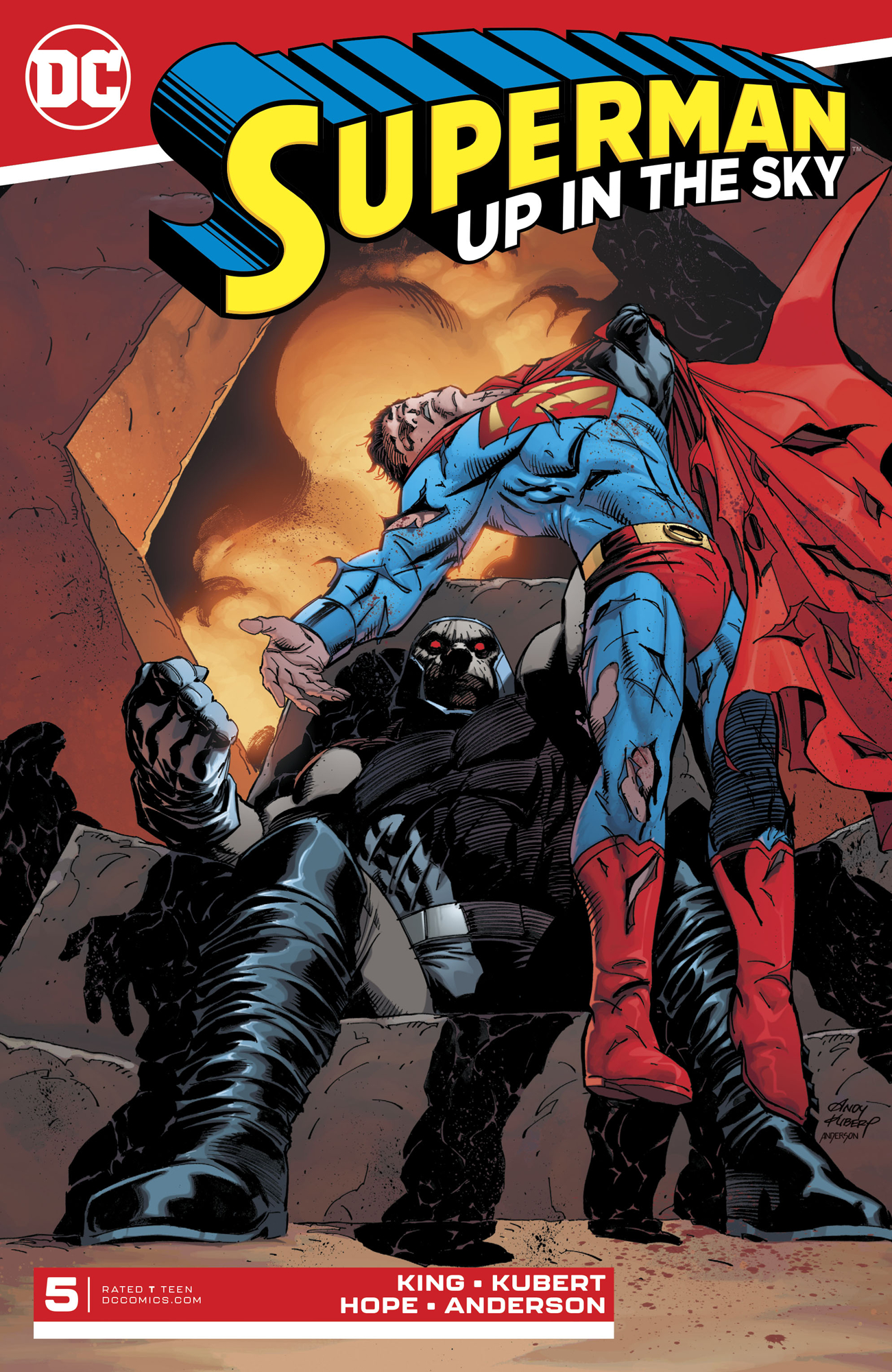 SUPERMAN UP IN THE SKY #5 (OF 6)