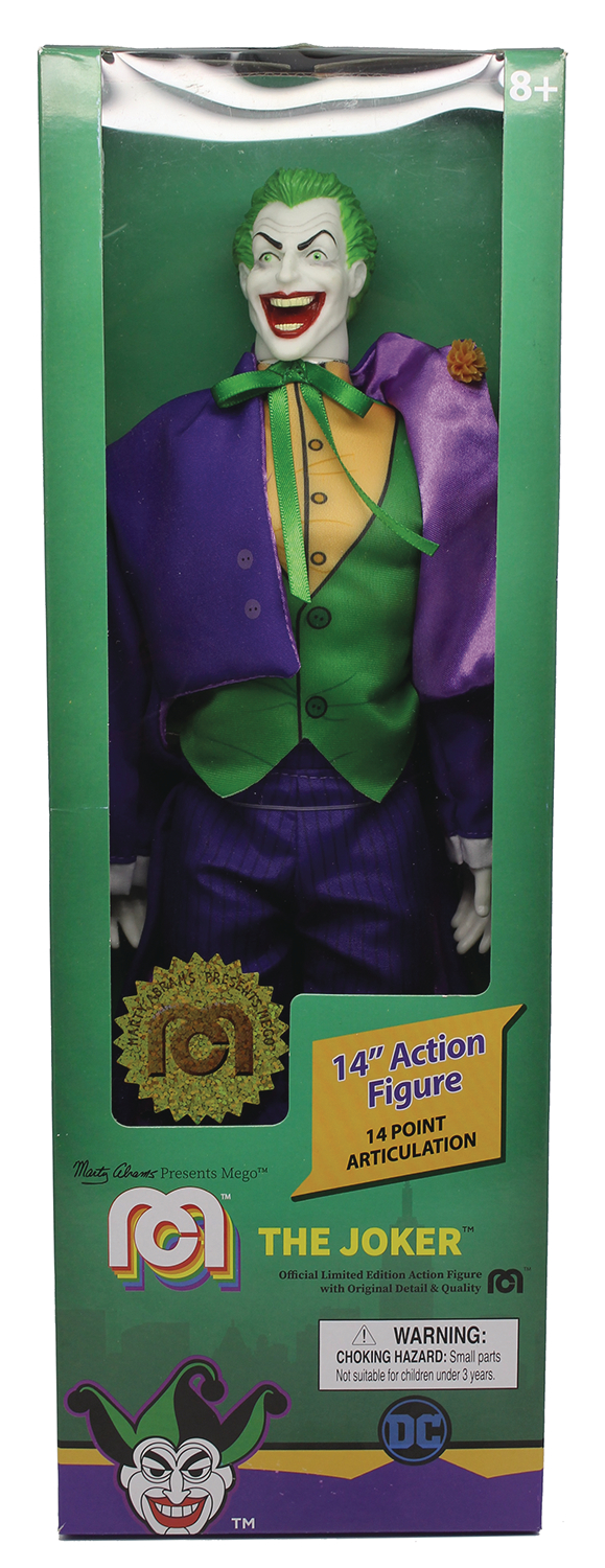 MEGO DC COMICS WAVE 5 NEW 52 JOKER 14IN AF