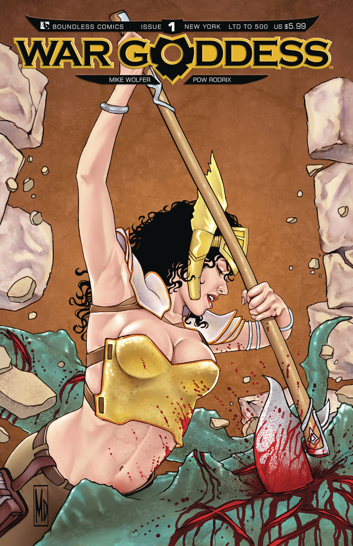 WAR GODDESS #0 NYCC (MR)