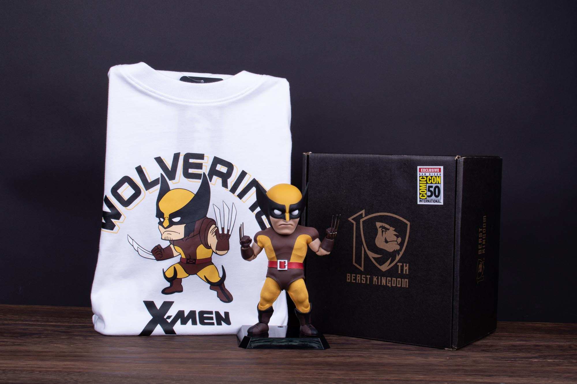 X-MEN EAA-084DX WOLVERINE PX AF BROWN COSTUME VER W/TEE XL (