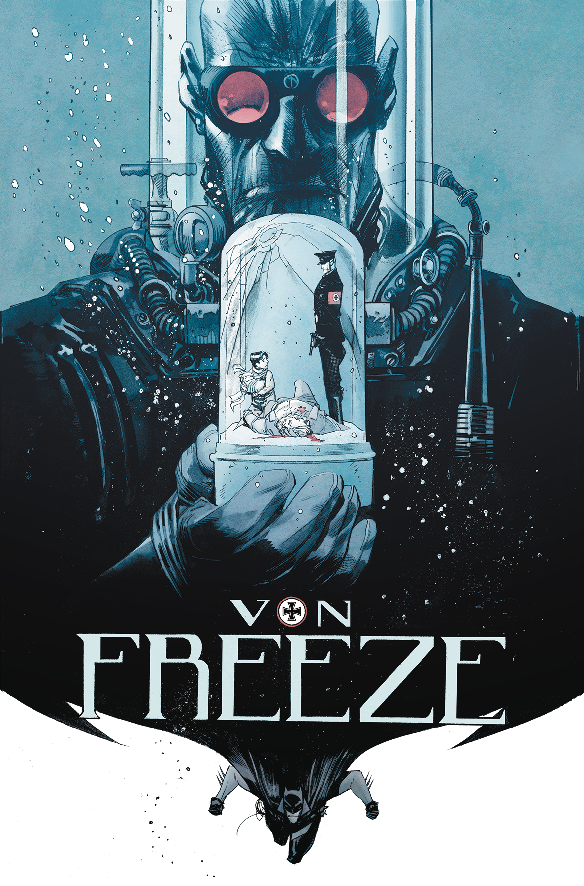 Image result for batman white knight von freeze""