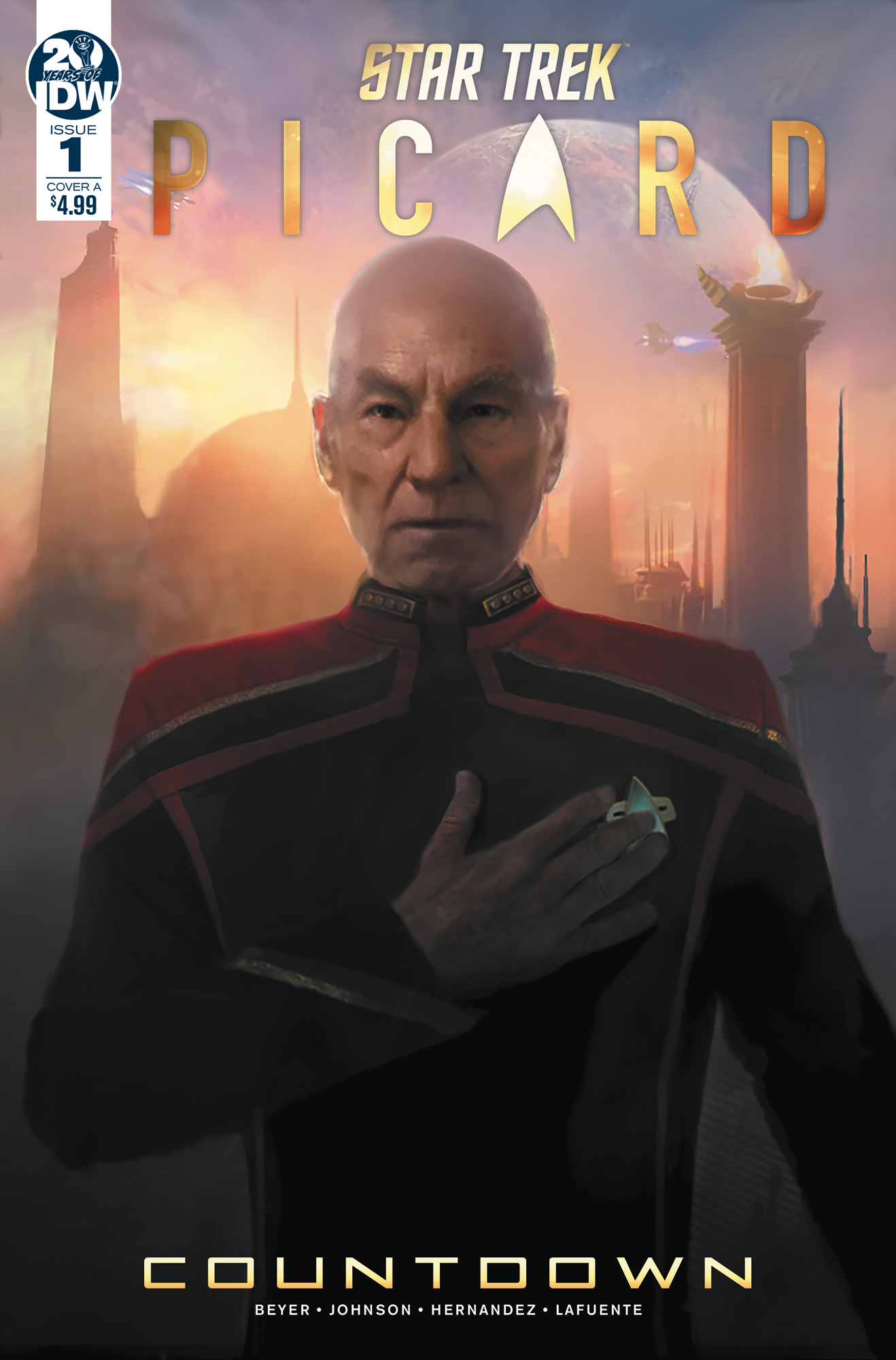 STAR TREK PICARD COUNTDOWN #1 CVR A TBA